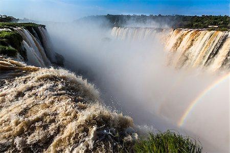 Devil's Throat (Garganta del Diablo) at Iguacu Falls, Iguacu National Park, Argentina Stock Photo - Rights-Managed, Code: 700-07237791