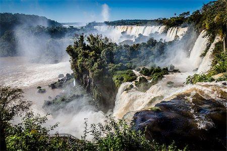 Iguacu Falls, Iguacu National Park, Argentina Stock Photo - Rights-Managed, Code: 700-07237802