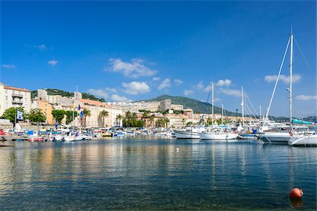 Tino Rossi Harbour, Ajaccio, Corsica, France Stock Photo - Rights-Managed, Code: 700-07237868
