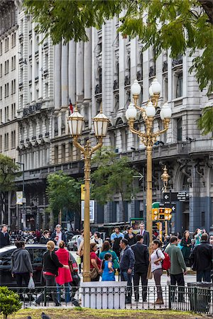 people in argentina - People on street, Plaza de Mayo, Buenos Aires, Argentina Stock Photo - Rights-Managed, Code: 700-07237969