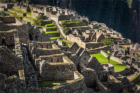 peru and culture - Overhead view of Machu Picchu, Peru Stock Photo - Rights-Managed, Code: 700-07237975