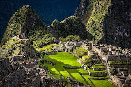 peru and culture - Scenic overview of Machu Picchu, Peru Stock Photo - Rights-Managed, Code: 700-07237976