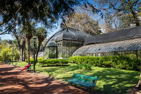 people in argentina - Greenhouse, Botanical Gardens of Buenos Aires, Buenos Aires, Argentina Stock Photo - Rights-Managed, Code: 700-07237970