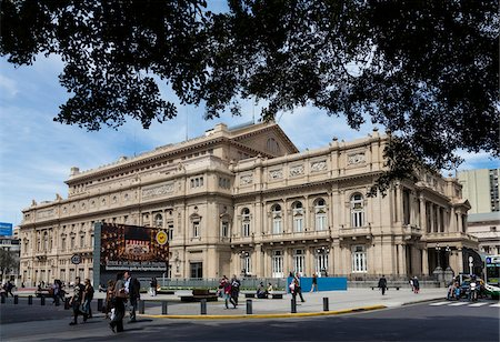 people in argentina - Teatro Colon, Buenos Aires, Argentina Stock Photo - Rights-Managed, Code: 700-07237973