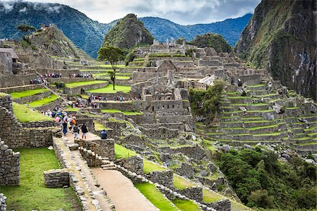 Overview of Machu Picchu, Peru Stock Photo - Rights-Managed, Code: 700-07238041