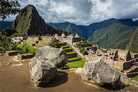 Overview of Machu Picchu, Peru Stock Photo - Rights-Managed, Code: 700-07238060