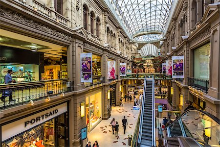 shopping mall - Overview of Galerias Pacifico shopping centre, Buenos Aires, Argentina Stock Photo - Rights-Managed, Code: 700-07279051