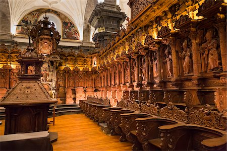 peru and culture - Interior of Cathedral of Santo Domingo, Cusco, Peru Stock Photo - Rights-Managed, Code: 700-07279077