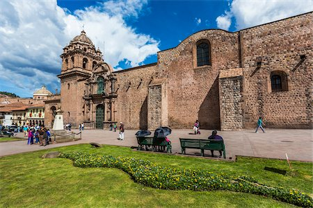 peru and culture - Merced Church and Convent, Cusco, Peru Stock Photo - Rights-Managed, Code: 700-07279089