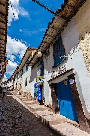 peru and culture - Street scene, Cusco, Peru Stock Photo - Rights-Managed, Code: 700-07279097