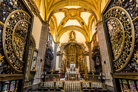 Interior of Basilica of Our Lady of Guadalupe, Mexico City, Mexico Stock Photo - Rights-Managed, Code: 700-07279489