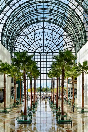 Winter Garden Atrium, World Financial Center, World Trade Center, Lower Manhattan, New York City, New York, USA Stockbilder - Lizenzpflichtiges, Bildnummer: 700-07310910