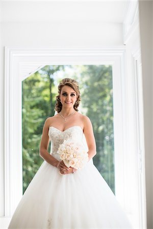 Portrait of Bride, Toronto, Ontario, Canada Stock Photo - Rights-Managed, Code: 700-07435023