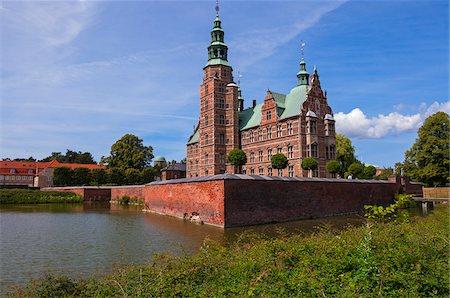 Rosenborg Castle, Copenhagen, Denmark Stock Photo - Rights-Managed, Code: 700-07487374