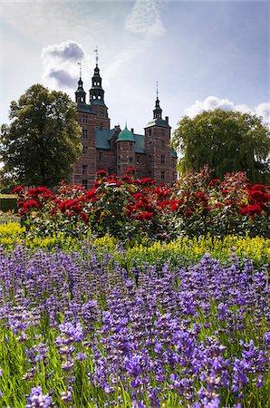 King's Garden at Rosenborg Castle, Copenhagen, Denmark Stock Photo - Rights-Managed, Code: 700-07487377