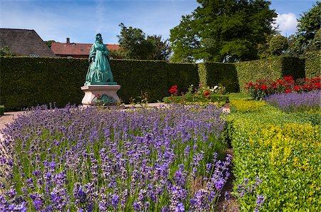 King's Garden at Rosenborg Castle, Copenhagen, Denmark Stock Photo - Rights-Managed, Code: 700-07487379