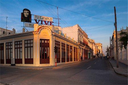 Billboard of Che Guevara at Parque Jose Marti, Cienfuegos, Cuba Stock Photo - Rights-Managed, Code: 700-07487530