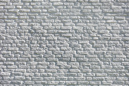 Brick Wall Painted White Stock Photo - Rights-Managed, Code: 700-07498139
