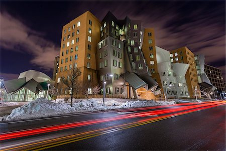 View of the Ray and Maria Stata Center, MIT, Boston, Massachusetts, USA. Stock Photo - Rights-Managed, Code: 700-07608375