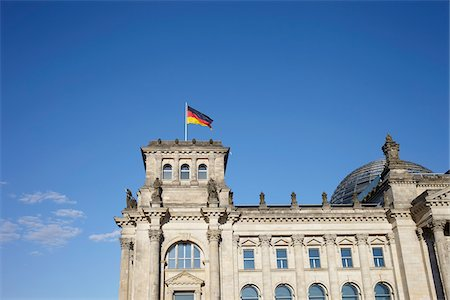 Reichstag Building, Berlin, Germany Stock Photo - Rights-Managed, Code: 700-07600031