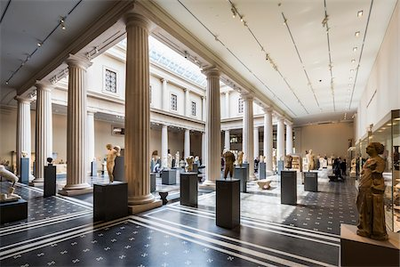 Interior of Metropolitan Museum of Art, New York City, New York, USA Stock Photo - Rights-Managed, Code: 700-07735939