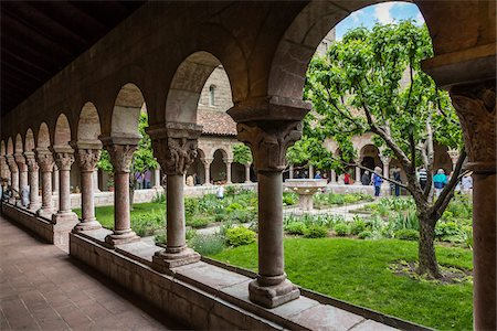 The Cloisters, Washington Heights, Upper Manhattan, New York City, New York, USA Stock Photo - Rights-Managed, Code: 700-07735946