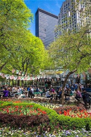 restaurant new york manhattan - Madison Square Park, Flatiron District, New York City, New York, USA Stock Photo - Rights-Managed, Code: 700-07744959