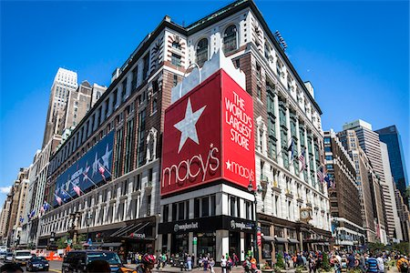 Macy's, New York City, New York, USA Stock Photo - Rights-Managed, Code: 700-07745144
