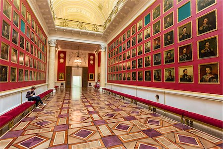Military Gallery, The Hermitage, St. Petersburg, Russia Stock Photo - Rights-Managed, Code: 700-07760144