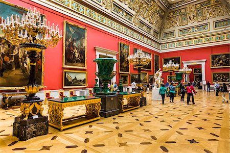 Malachite Room, The Hermitage Museum, St. Petersburg, Russia, St. Petersburg, Russia Stock Photo - Rights-Managed, Code: 700-07760157