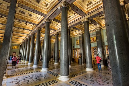Twenty Column Hall, The Hermitage, St. Petersburg, Russia Stock Photo - Rights-Managed, Code: 700-07760150