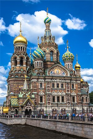 The Church on Spilled Blood, St. Petersburg, Russia Stock Photo - Rights-Managed, Code: 700-07760195