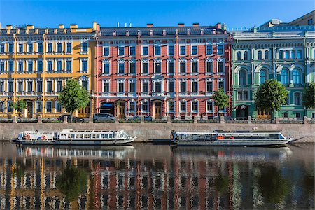 The Moyka River, St. Petersburg, Russia Fotografie stock - Rights-Managed, Codice: 700-07760190