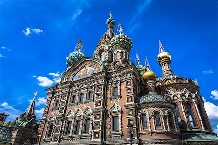 The Church on Spilled Blood, St. Petersburg, Russia Photographie de stock - Rights-Managed, Code: 700-07760200