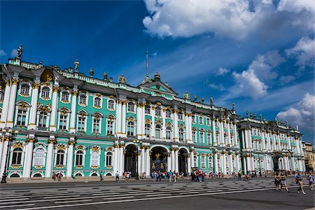 The Hermitage Museum, St. Petersburg, Russia Stock Photo - Rights-Managed, Code: 700-07760202