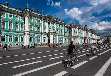 The Hermitage Museum, St. Petersburg, Russia Stock Photo - Rights-Managed, Code: 700-07760203