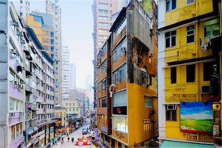 flat (apartment) - Highrise Buildings, Central District, Hong Kong Island, Hong Kong, China Stock Photo - Rights-Managed, Code: 700-07760409