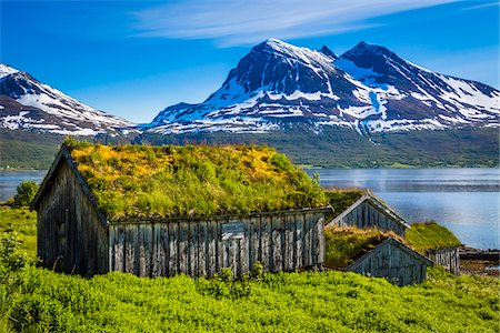Straumengard Museum, Kvaloya Island, Tromso, Norway Stock Photo - Rights-Managed, Code: 700-07784089