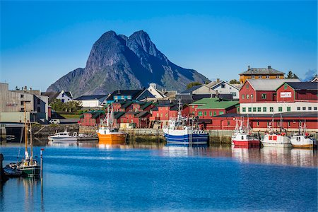Stamsund, Vestvagoya, Lofoten Archipelago, Norway Stock Photo - Rights-Managed, Code: 700-07784269