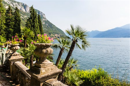 Botanic Garden, Villa Monastero, Lago di Como, Lombardy, Italy Stock Photo - Rights-Managed, Code: 700-07844384