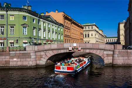 The Winter Canal on the Moyka River, St. Petersburg, Russia Stock Photo - Rights-Managed, Code: 700-07849661