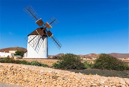 Los Molinos Interpretive Centre for Windmills, Tiscamanita, Fuerteventura, Las Palmas, Canary Islands Stock Photo - Rights-Managed, Code: 700-07945298
