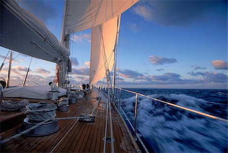 sailboat  ocean - Endeavour during Sailing Passage to Bermuda Stock Photo - Rights-Managed, Code: 700-07965853