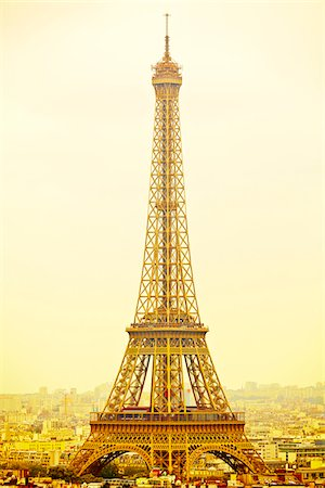Eiffel Tower, Champ de Mars, Paris, France Stock Photo - Rights-Managed, Code: 700-08059881