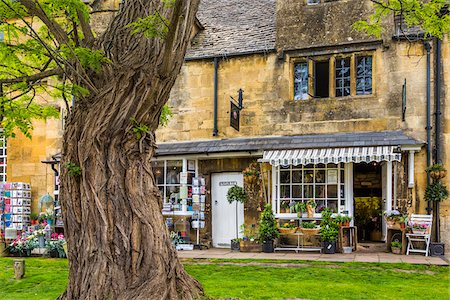 Chipping Campden, Gloucestershire, Cotswolds, England, United Kingdom Fotografie stock - Rights-Managed, Codice: 700-08145785