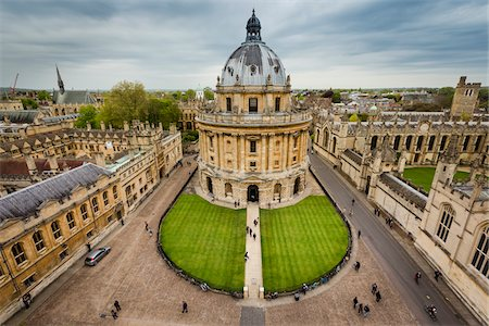 Radcliffe Camera, Oxford University, Oxford, Oxfordshire, England, United Kingdom Photographie de stock - Rights-Managed, Code: 700-08145870