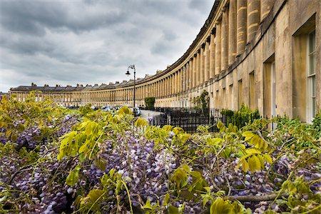 Royal Crescent, Bath, Somerset, England, United Kingdom Stock Photo - Rights-Managed, Code: 700-08145880
