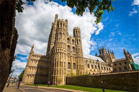 Ely Cathedral, Ely, Cambridgeshire, England, United Kingdom Stock Photo - Rights-Managed, Code: 700-08145898