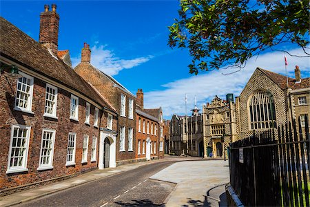 Buildings and street scene, King's Lynn, Norfolk, England, United Kingdom Stock Photo - Rights-Managed, Code: 700-08145892
