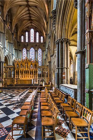 Interior of Ely Cathedral, Ely, Cambridgeshire, England, United Kingdom Stock Photo - Rights-Managed, Code: 700-08145901